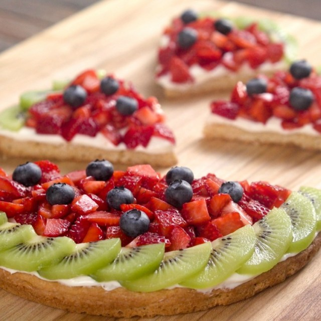 Watermelon Fruit Cookie Halves