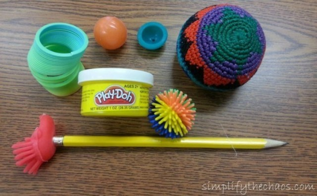 Find fidget tools and toys at Dollar Store