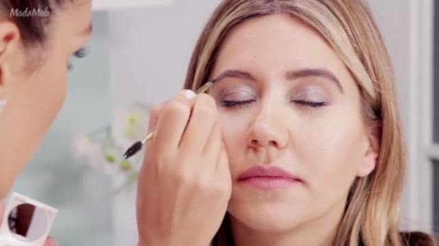 Fill in sparse areas of natural brow shape