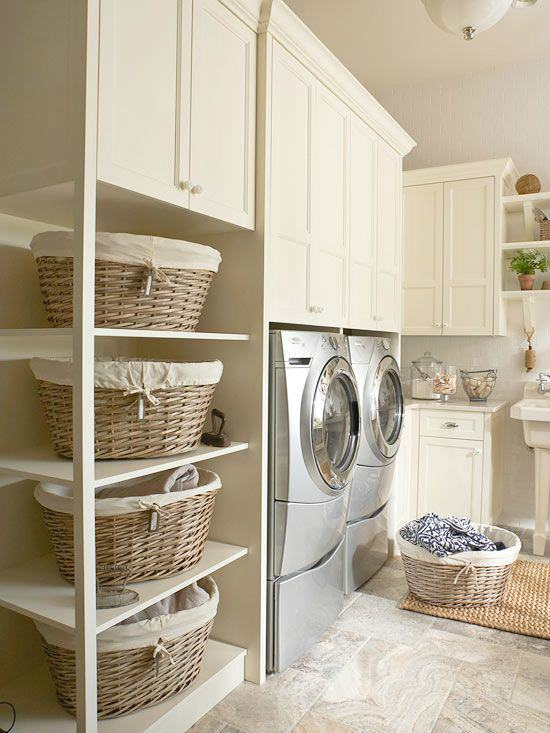 Rustic Modern Laundry Room
