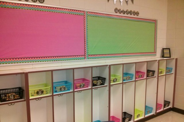 Use plastic Dollar Store tablecloths to refresh bulletin boards