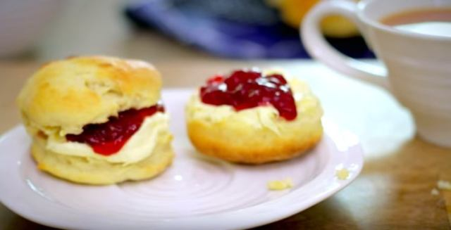 Scones made with only three ingredients