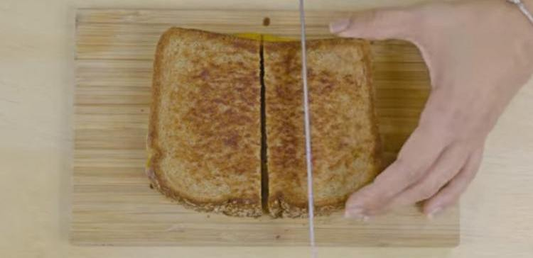 How to make grilled cheese sticks.