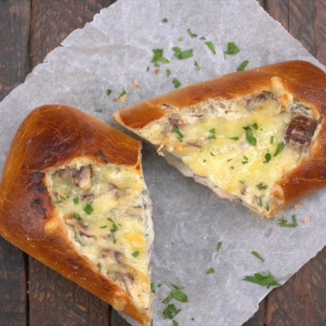 baked mushrooms broken bread recipes dishmaps baked mushrooms broken ...