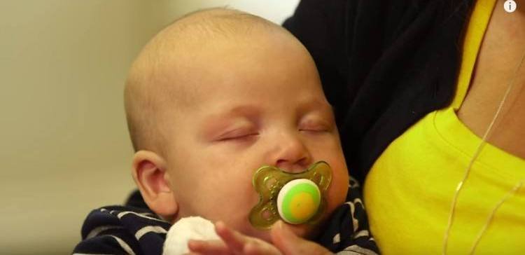 Invention that helps monitor a baby's vitals.