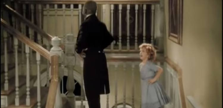 "Shirley Temple and Bill ""Bojangles"" Robinson in The Little Colonel"