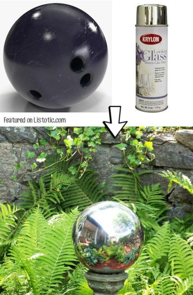 Spray Paint Bowling Ball