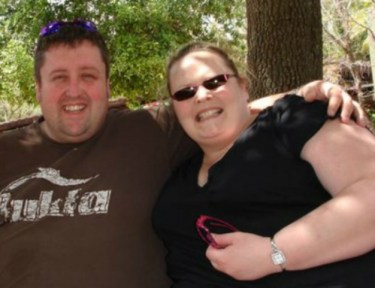 Couples who lost weight together.
