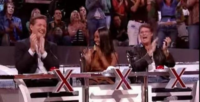 America's Got Talent judges clapping
