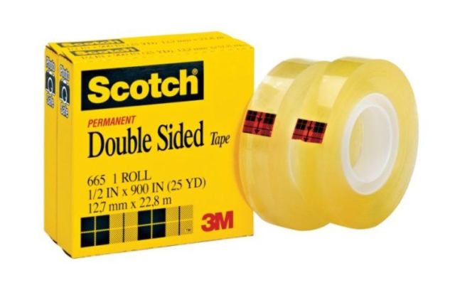 Roll of double sided tape.