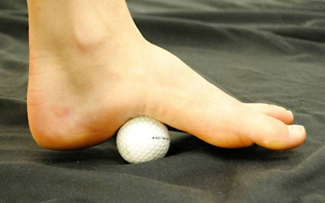golf ball massage