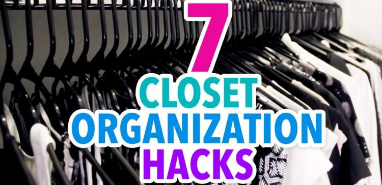 Seven closet organization tricks.