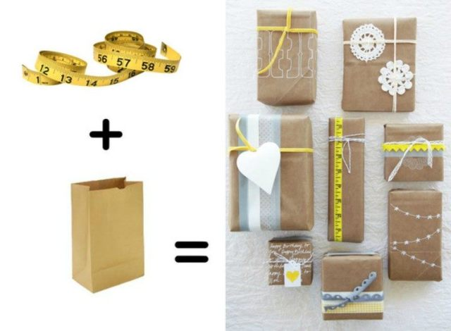 Measuring Tape Wrapping