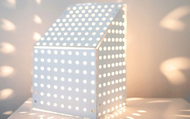 nightlight pegboard