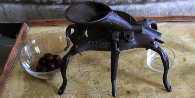 antique cherry pitter