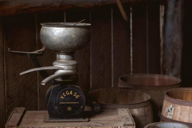 antique cream separator