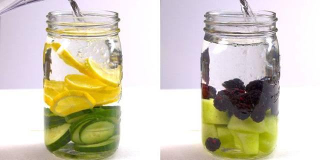 Fruit Infused Detox Water