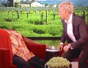 Ellen's guest has a hilarious reaction.