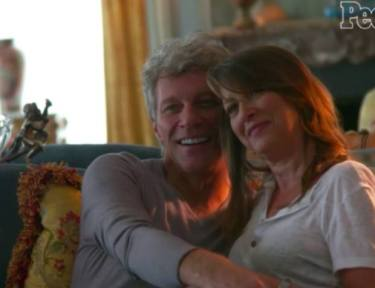 Jon Bon Jovi and Dorothea