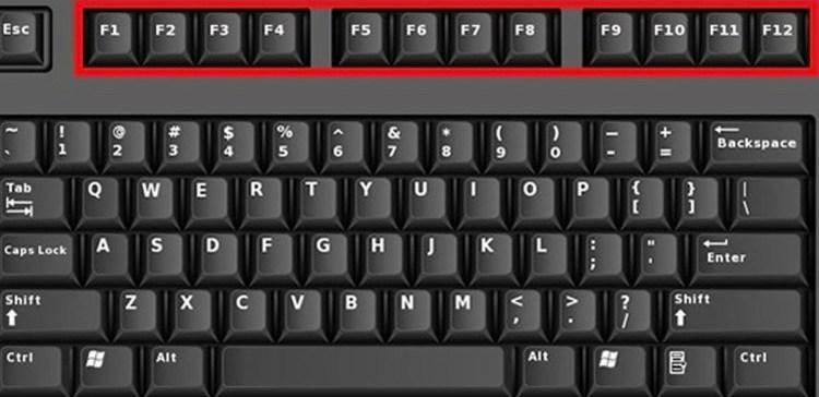 Image of computer keyboard.