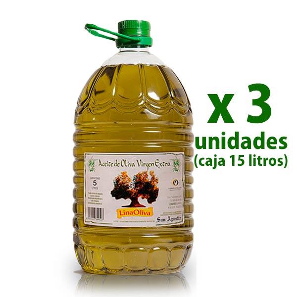 AOVE Linaoliva 5 litros x 3 uds