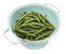 Getting Green Beans Ready For Freezing