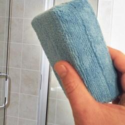spotless shower door