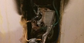 Faulty electric water heater wiring