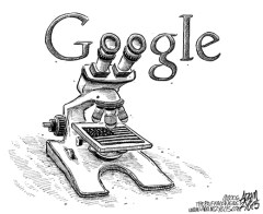 google-cartoon
