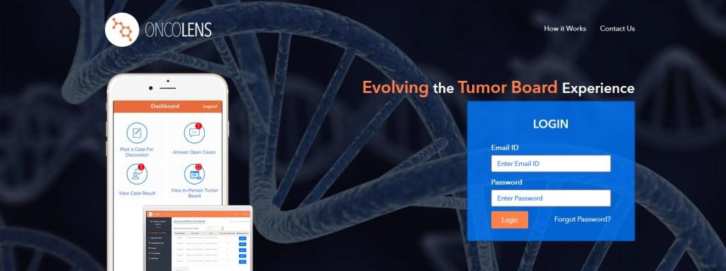 Screenshot OncoLens 1