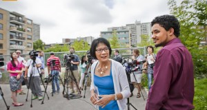 Toronto Mayoral contender Olivia Chow Photo By Pooyan Tabatabaei