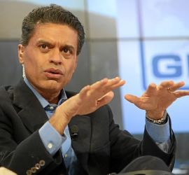 """Fareed Zakaria World Economic Forum 2013"" by World Economic Forum from Cologny, Switzerland - Transformations in the Arab World: Fareed ZakariaUploaded by January. Licensed under Creative Commons Attribution-Share Alike 2.0 via Wikimedia Commons"