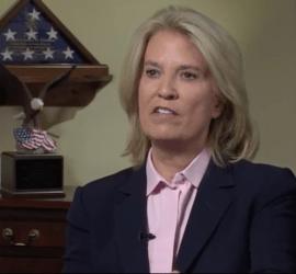 Greta Van Susteren interviewing Sen. Lindsey Graham for VOA