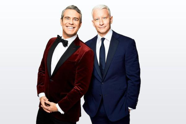 CNN NYE, Anderson Cooper, Andy Cohen © 2017 Cable News Network. A Time Warner Company. All Rights Reserved.
