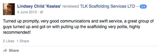 Scaffolders Cornwall - TLK Scaffolding Services LTD