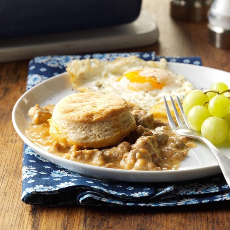 Large Of Biscuits And Gravy Bake