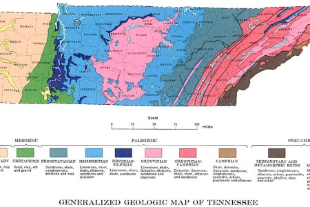 Map Of Tennessee Natural Resources - Natural resources map of us