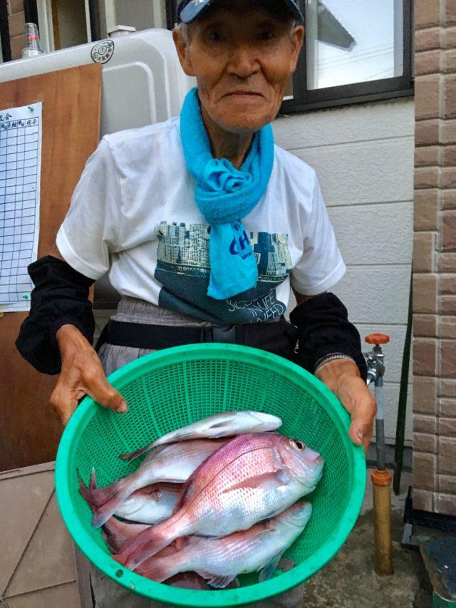 20190818 鯛釣り大会 2