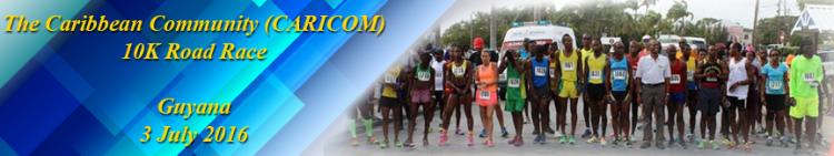 10K Race Banner