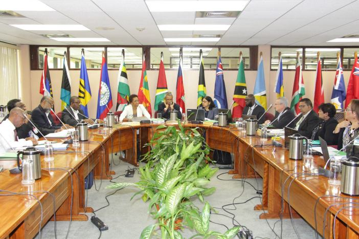 The Meeting of Officials of the 71st Special Meeting of the Council for trade and Economic Development (COTED) underway at the CARICOM Secretariat, Georgetown, Guyana, 4 October, 2017