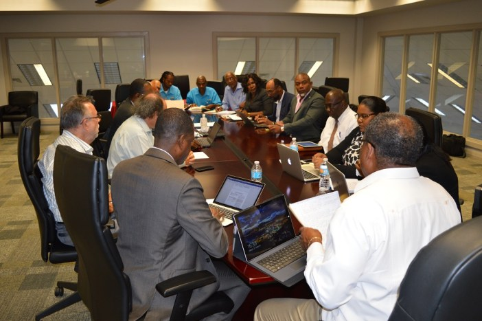 Geothermal Stakeholders Meeting  in St. Kitts and Nevis (Photo via SKNIS)