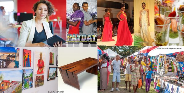 A composite photo of some of the items expected to be showcased at the CARIFESTA Grand Market and Buyer's Shopping Mall. (Photo via Barbados Today)