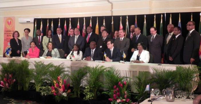 Caribbean Development Bank Board of Governors Meeting (Photo via Government of Antigua and Barbuda)