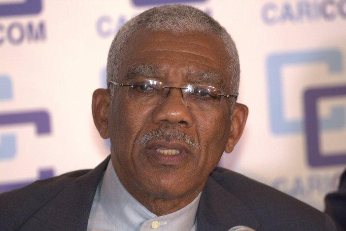 Chair of CARICOM, His Excellency David Granger, President of Guyana