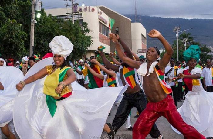 Guyana to field 60 member contingent to CARIFESTA (Photo via Nicolette Henry)