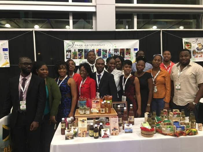 Youth agri-preneurs at CWA