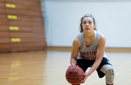 Chico State women's basketball player Whitney Branham has overcome spina bifida to become the Wildcats' leader on the court.