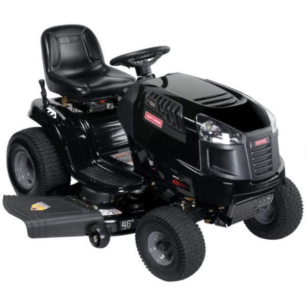 how to change oil in craftsman lawn tractor