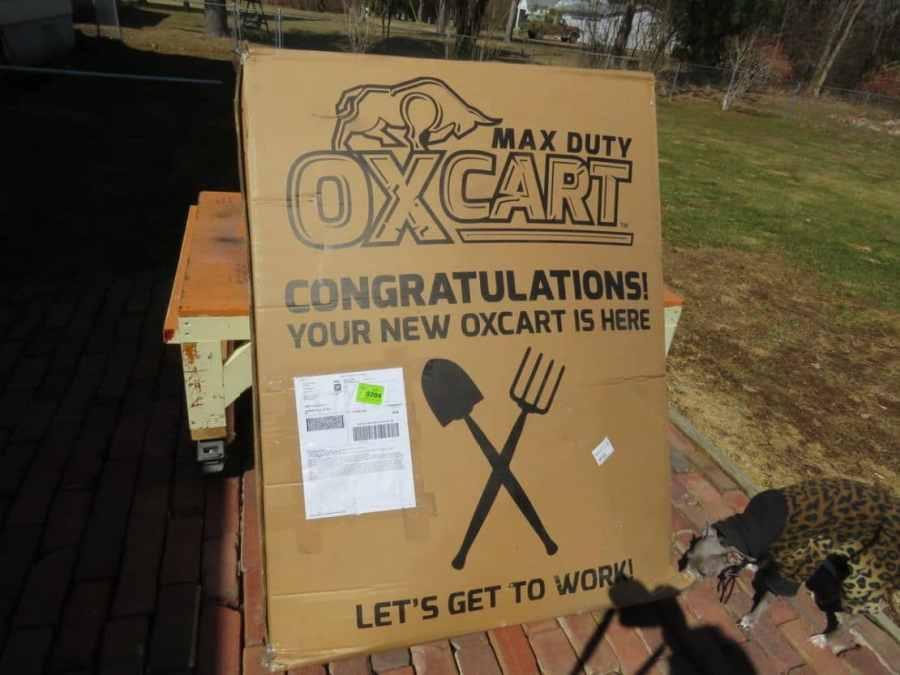 OxCart Shipping Box
