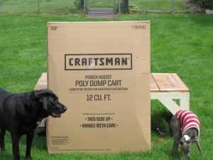 Craftsman Poly Dump Cart